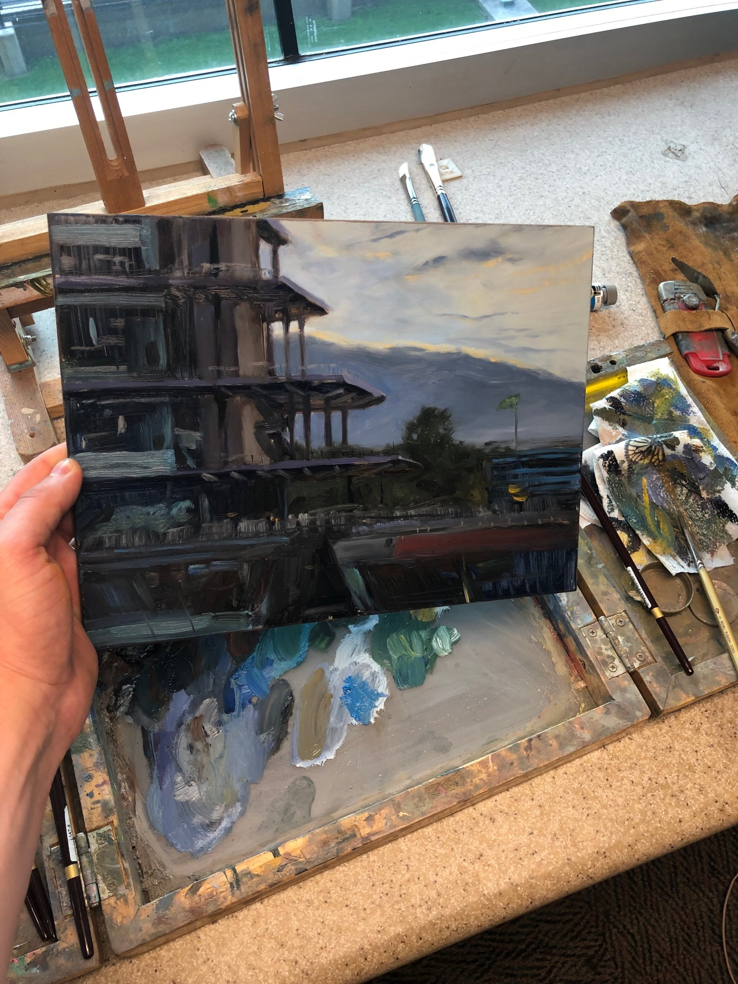 05 First painting of the day indy 500.jpg