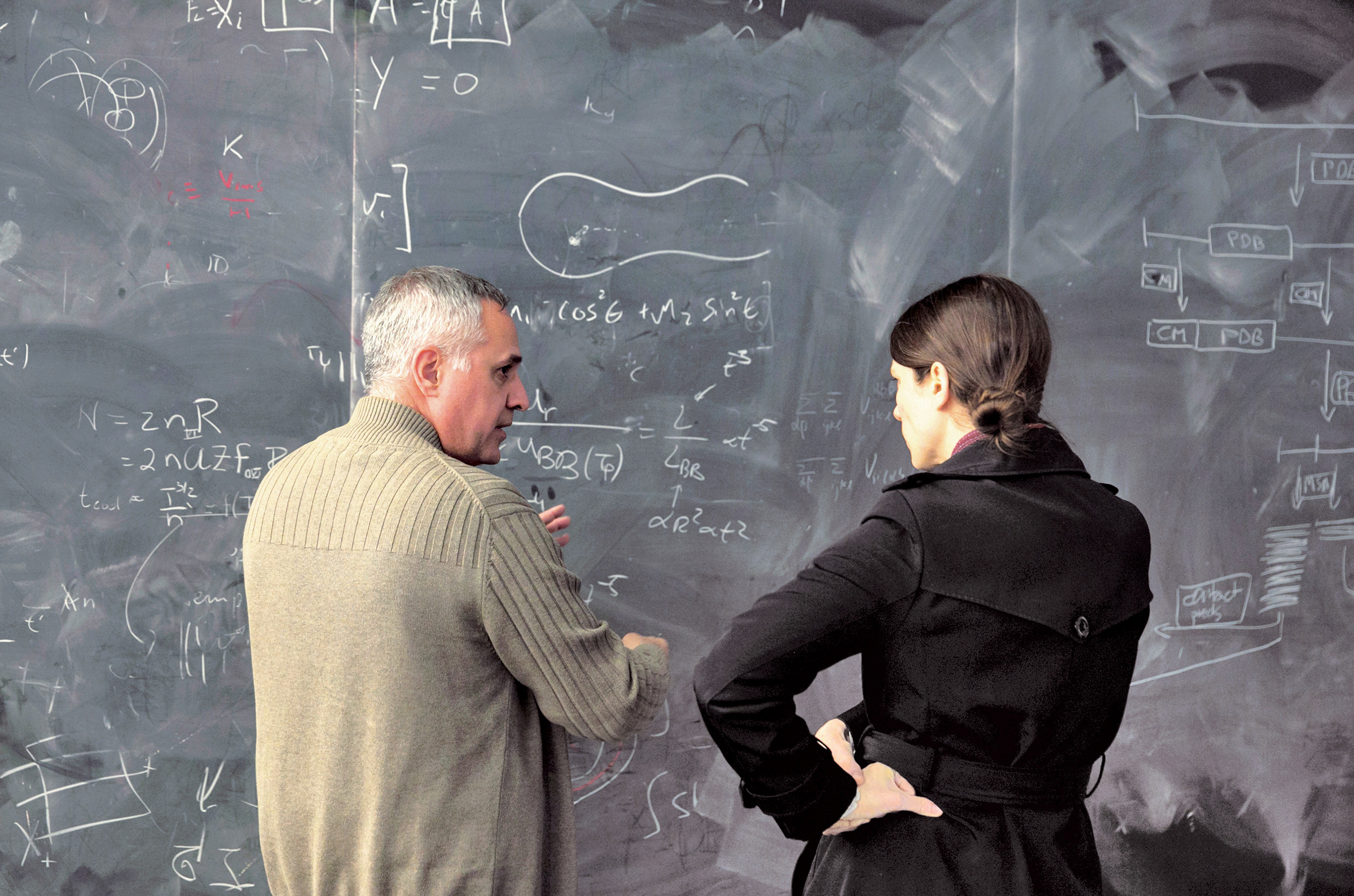 The CCA offers a very interactive, exciting environment for discussing scientific ideas and computational methods.