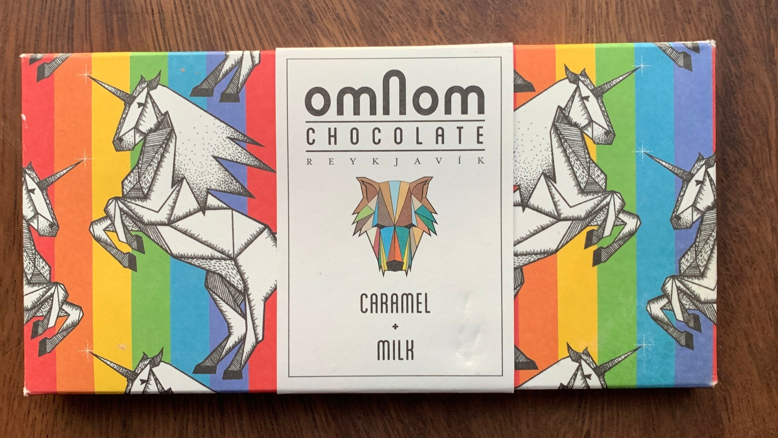 Omnom - Butter forward, smooth, lightly salted, nice addition of caramel pearls