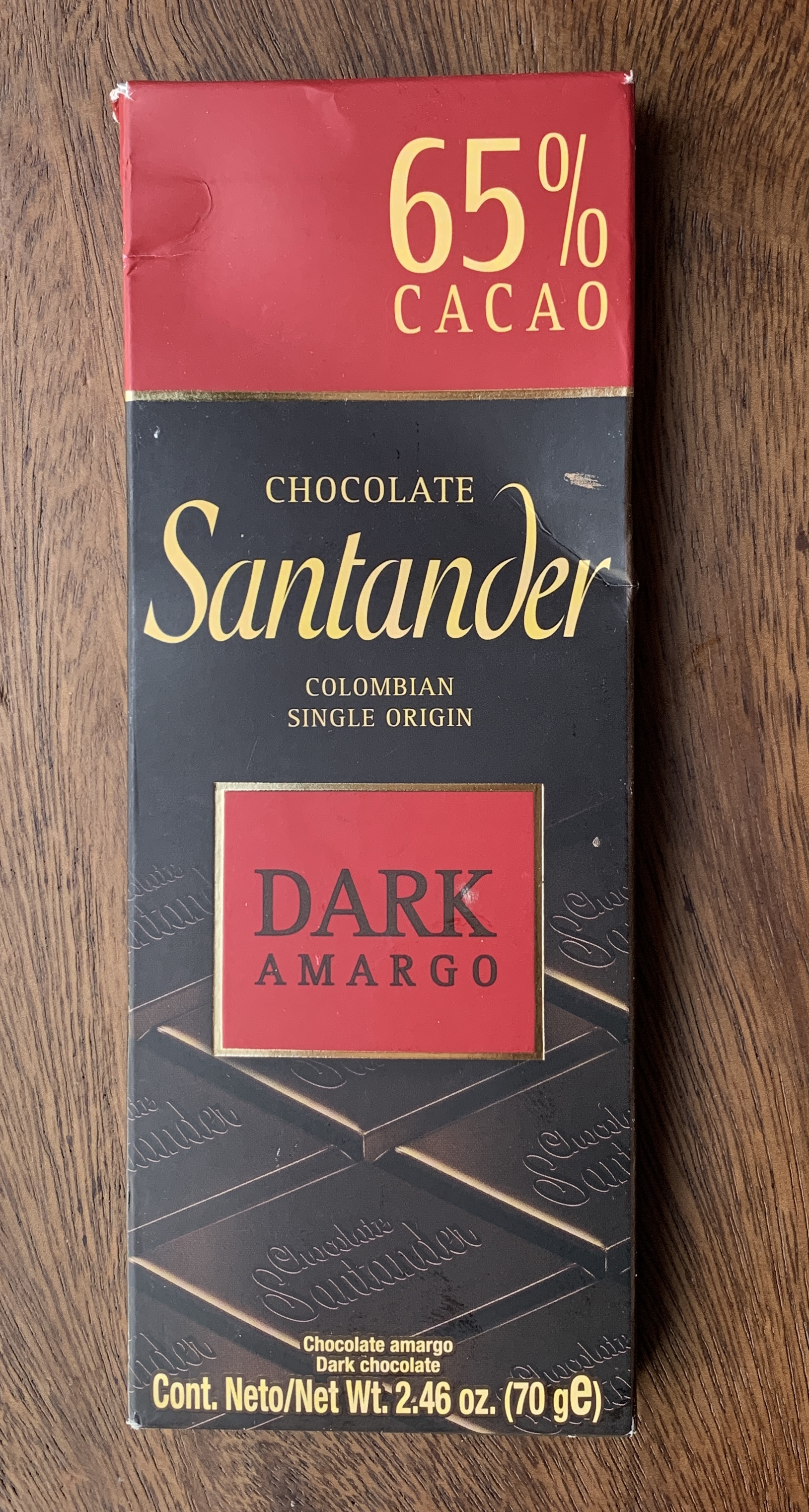 Santander - Deer heavy roast, coffee, toasted walnut  skins