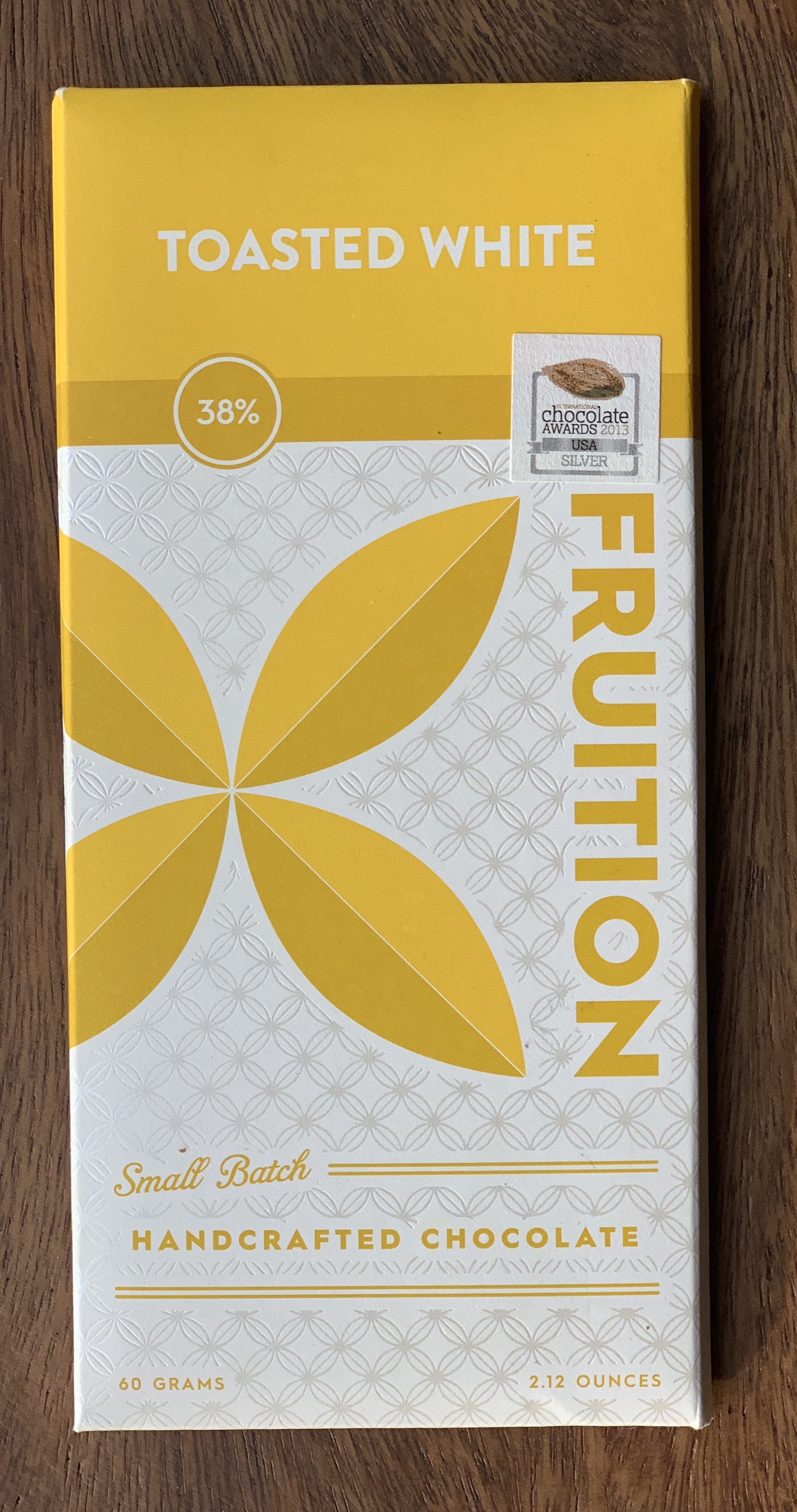 Fruition Chocolates  - Toasted almond, sweet cream butter,