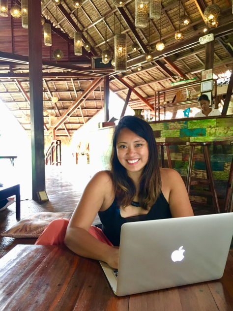 Digital nomad-ing in Harana Surf Resort, Siargao. By Beverly Rose