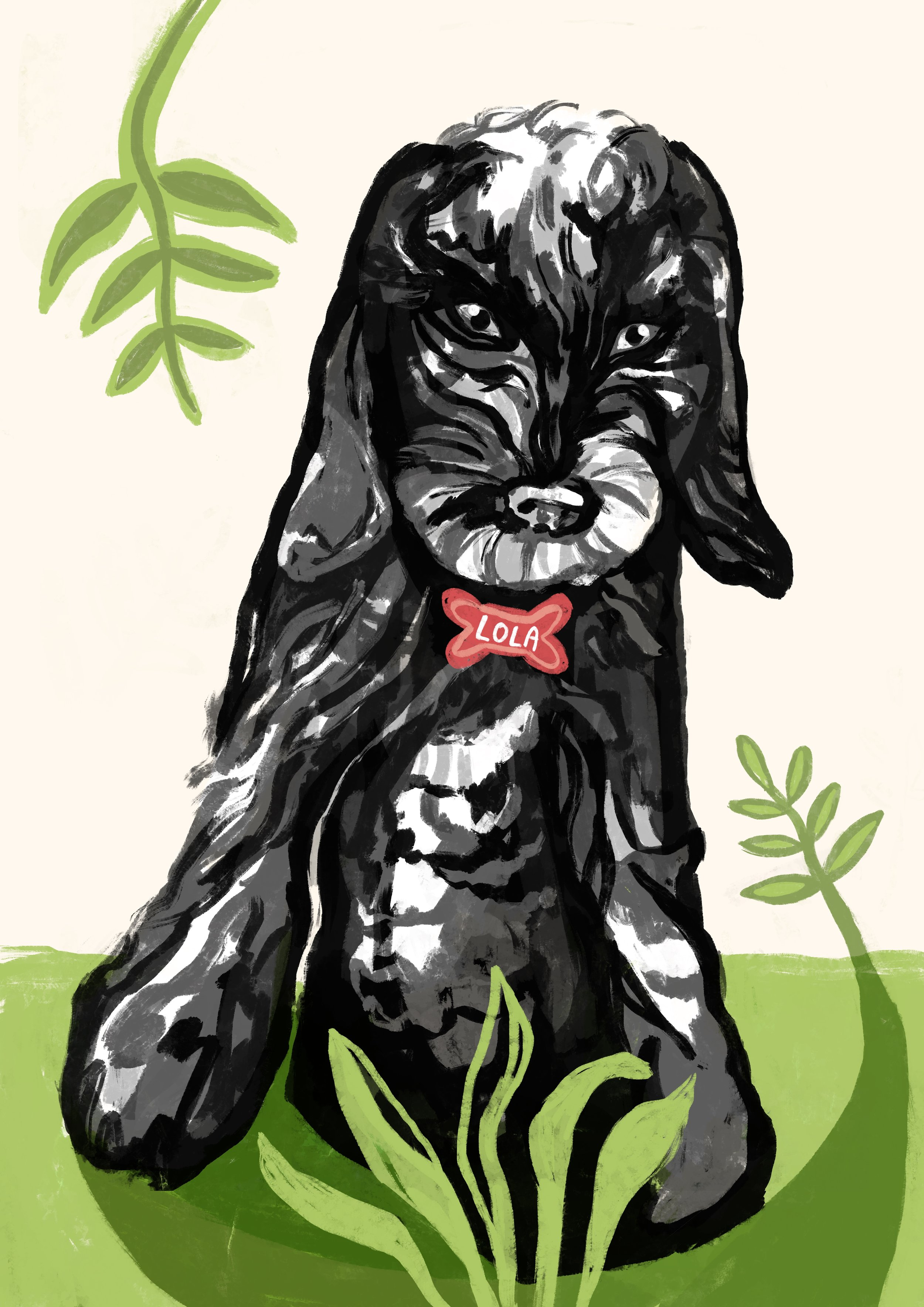Dog Portraits - Turn your favourite pooch into a piece of art?Availble in:Digital CopyFramed and Mounted Gift Package Availble