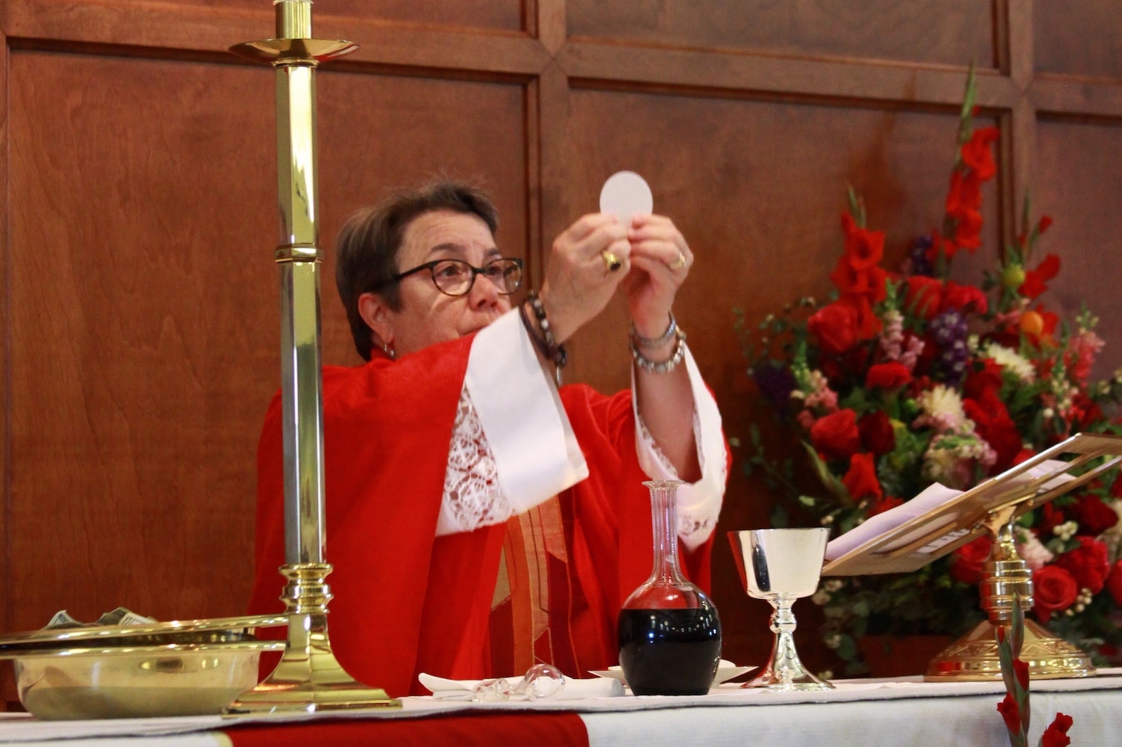 Receiving Communion - The Body and Blood of Christ