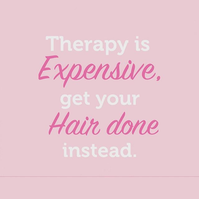 Everyone feels better when their hair looks good!  Book online at primp.nyc! . . . #nycsalon #nychair #nycblowouts #nycblowout #nycblowdrybar #fidi #seaportdistrict #therapy #hair #hairquotes