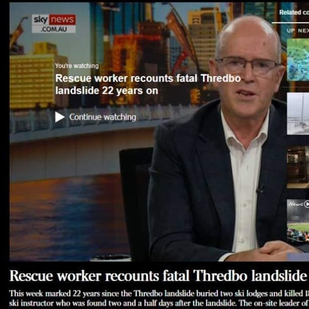22 years on from the fatal Thredbo Landslide, SchoolAid Founder & CEO Sean Gordon recounts the moment he heard Stuart Diver's voice return to rescuer call-outs with Sky News Australia, and how our organisation in-part evolved from the tragedy.  Sean was also asked about SchoolAid and how we are helping children avoid mental health issues, including anxiety, depression and suicide and how we use giving as a tool.  View Sean's interview with SkyNews here: http://bit.ly/2HdHYab  #stewartdiver #thredbolandslide #thredbo #skynewsaus #SchoolAid #empoweringyouth #mentalhealthinitiative #socialactionteam  #preventionratherthanacure #seangordon