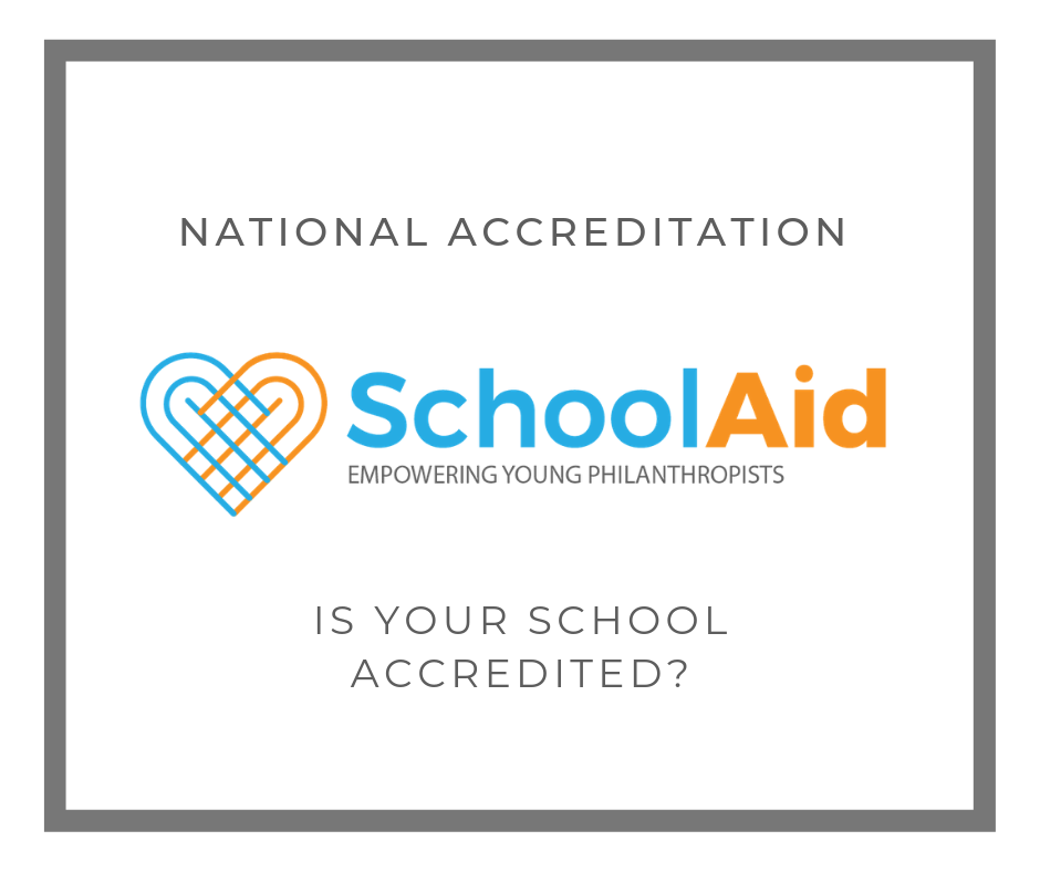 School Accreditation - Has your school been accredited by SchoolAid? Find out why you should and apply by downloading the National Accreditation Application Information below.