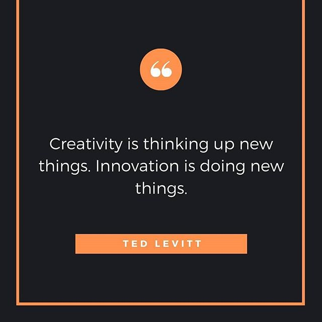 Love this post from @innovatemoretonbay  #innovatemoretonbay #quoteoftheday #innovationquotes #tedlevitt