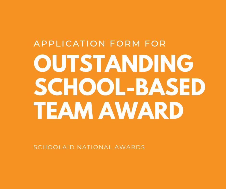 Oustanding School-based Team Award
