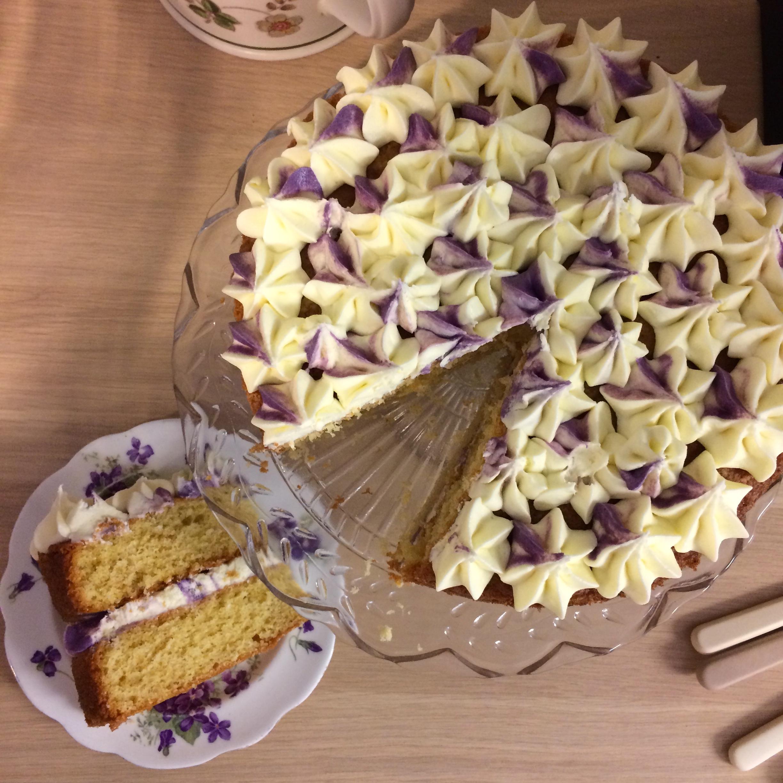 Parma Violet Cake