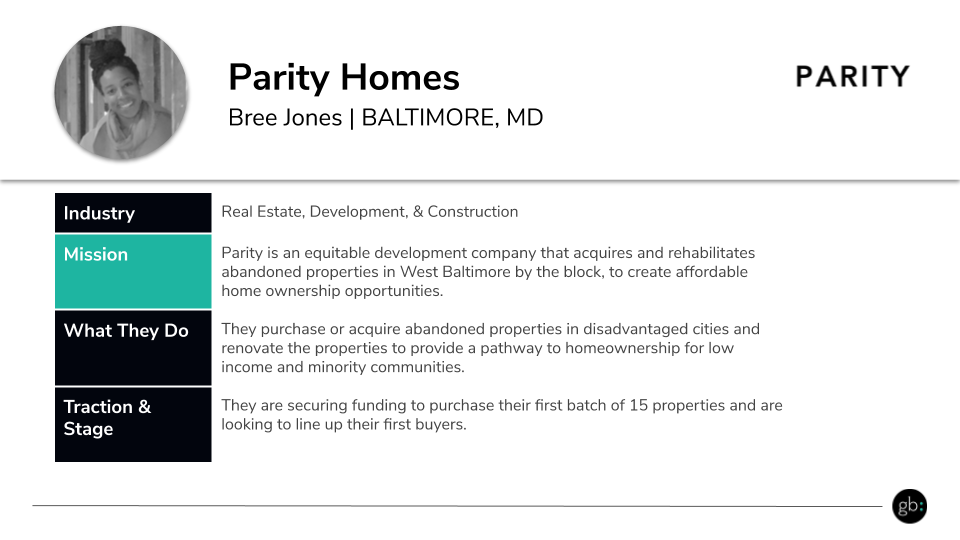 Parity Homes