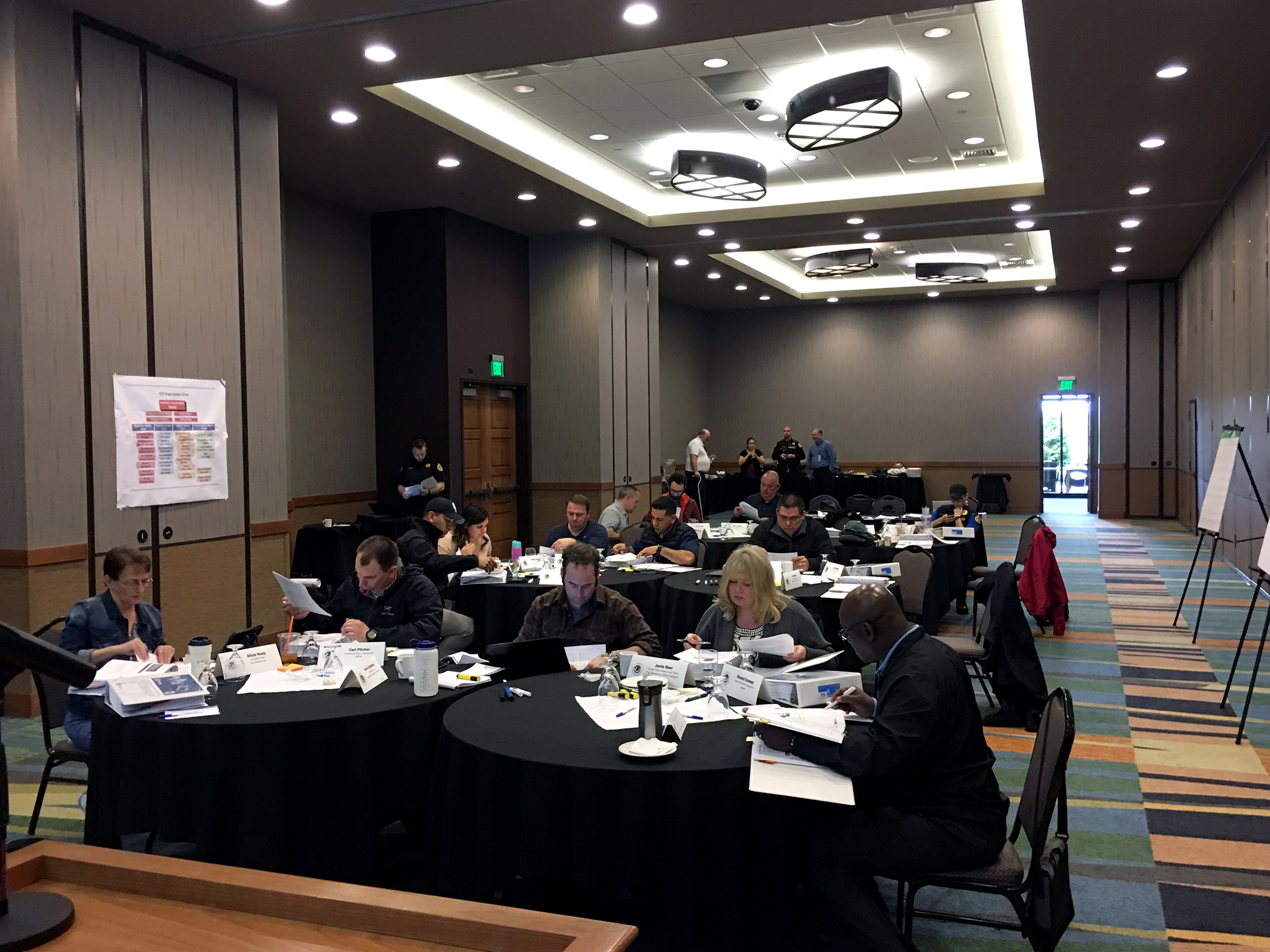 Emergency management training hosted by the Swinomish Tribe