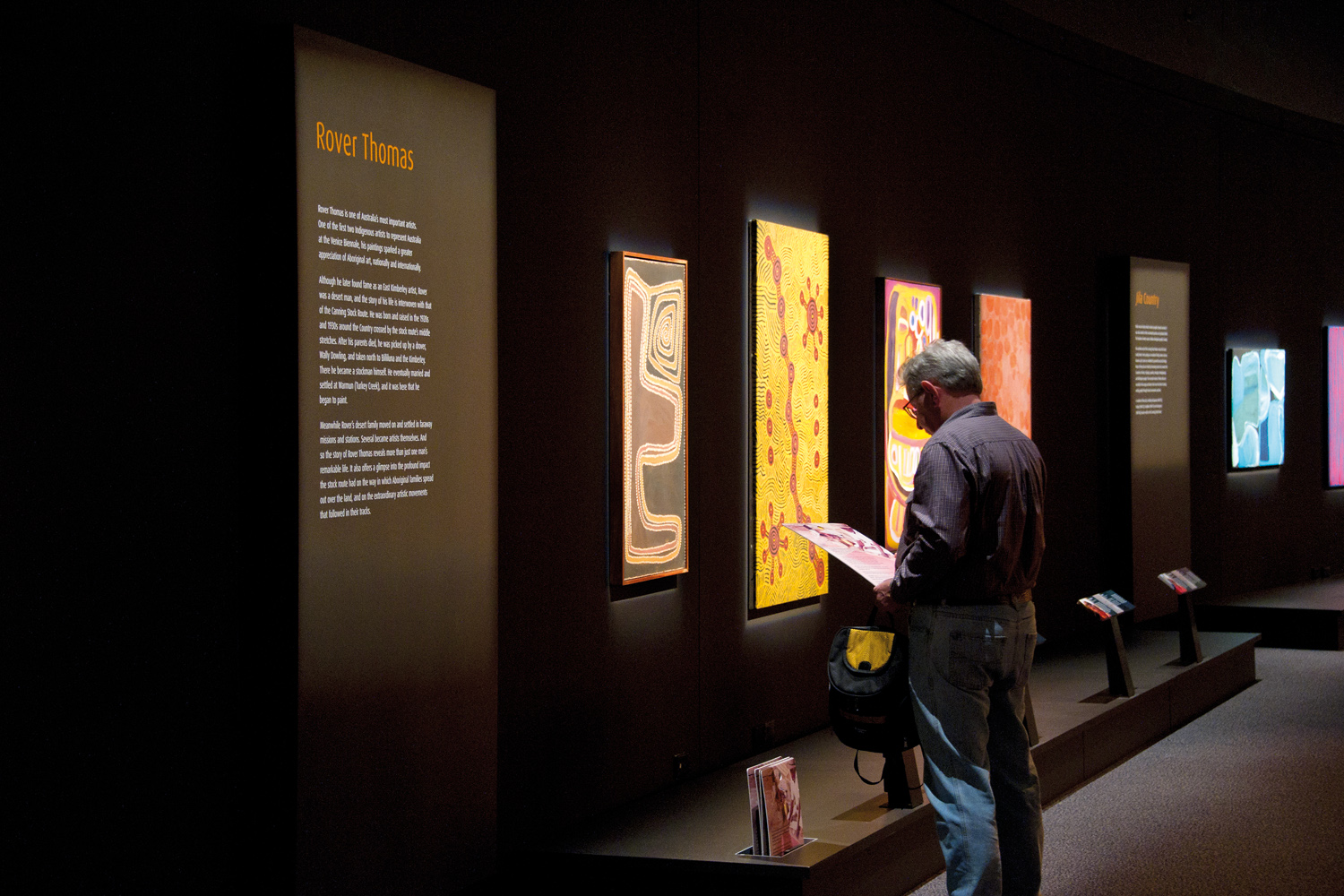 After intensive consultation, this exhibition was developed for both the National Museum of Australia and as a touring exhibition.