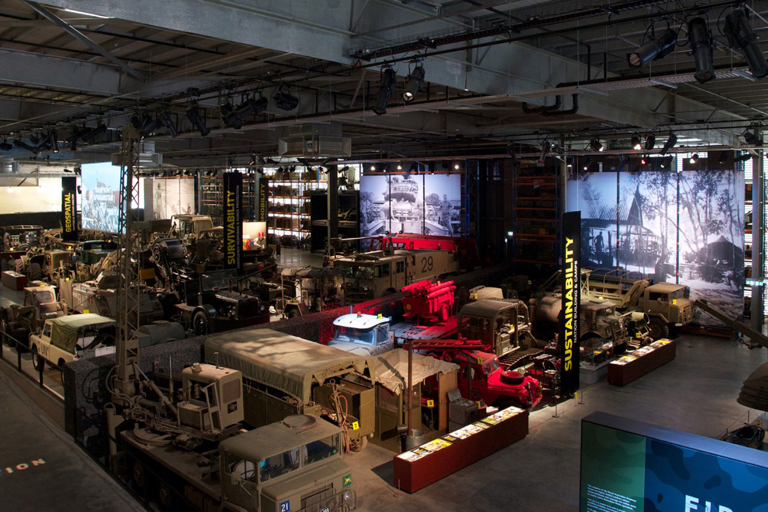 The first stage began with extensive analysis of the museum collection and associated history, in order to form a foundation for the thematic strategy and design concept. The second stage involved spatial planning, interpretive content development and creating all exhibition components and fixtures.