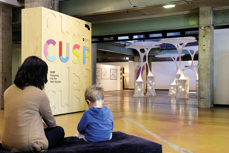 CUSP: Designing into the Next Decade Travelling Exhibition, Australia  Exhibition Design.