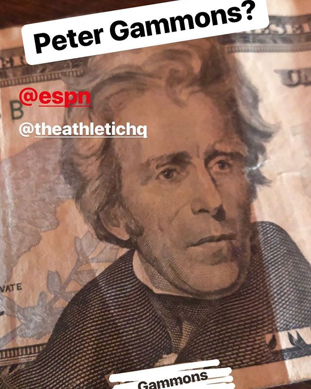 💴 Why would the United States Government put Peter Gommons on US currency $$$ 🤷🏻♂️🤷🏻♂️🤷🏻♂️