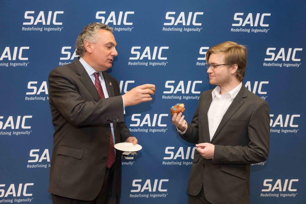 Corporate photography for SAIC