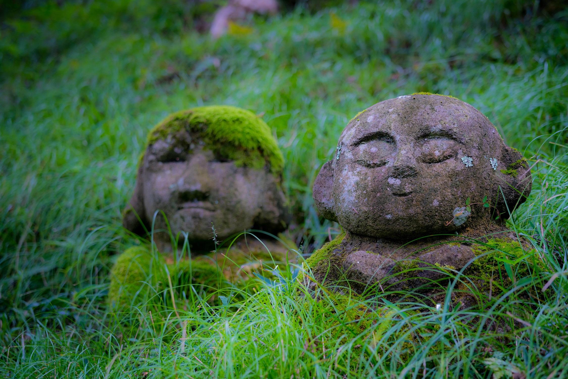Kyoto Otagi statues