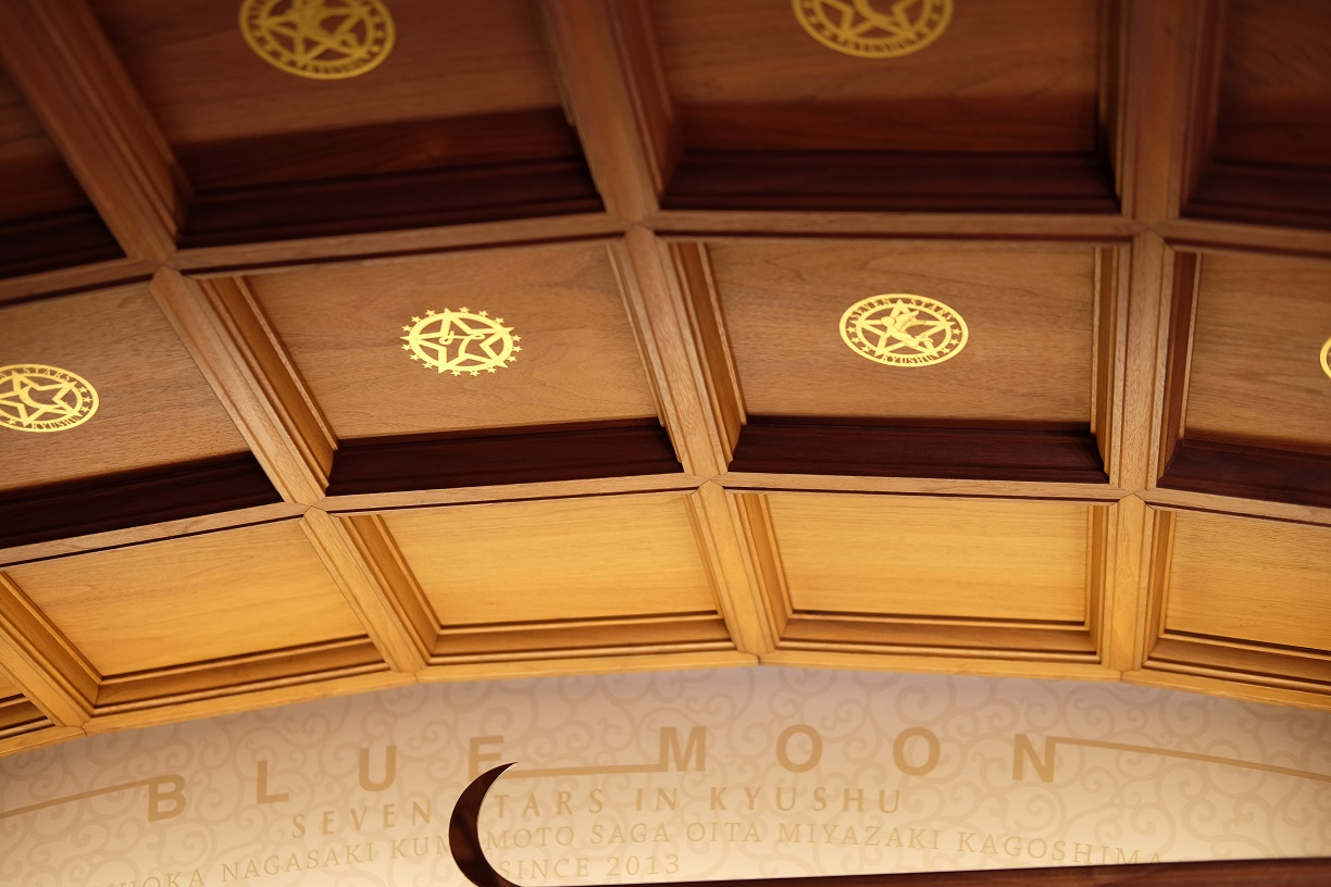 Nanatsuboshi train detail ceiling.JPG