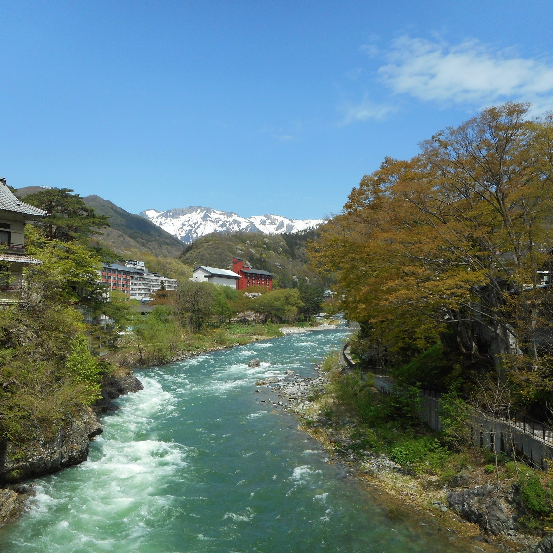 gunma river mountains