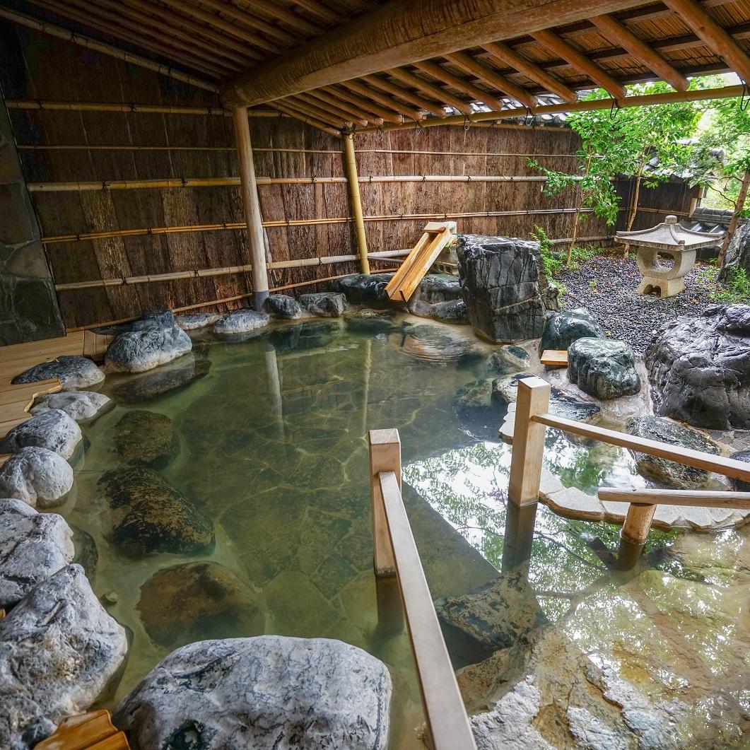 hanaougi onsen outdoor bath