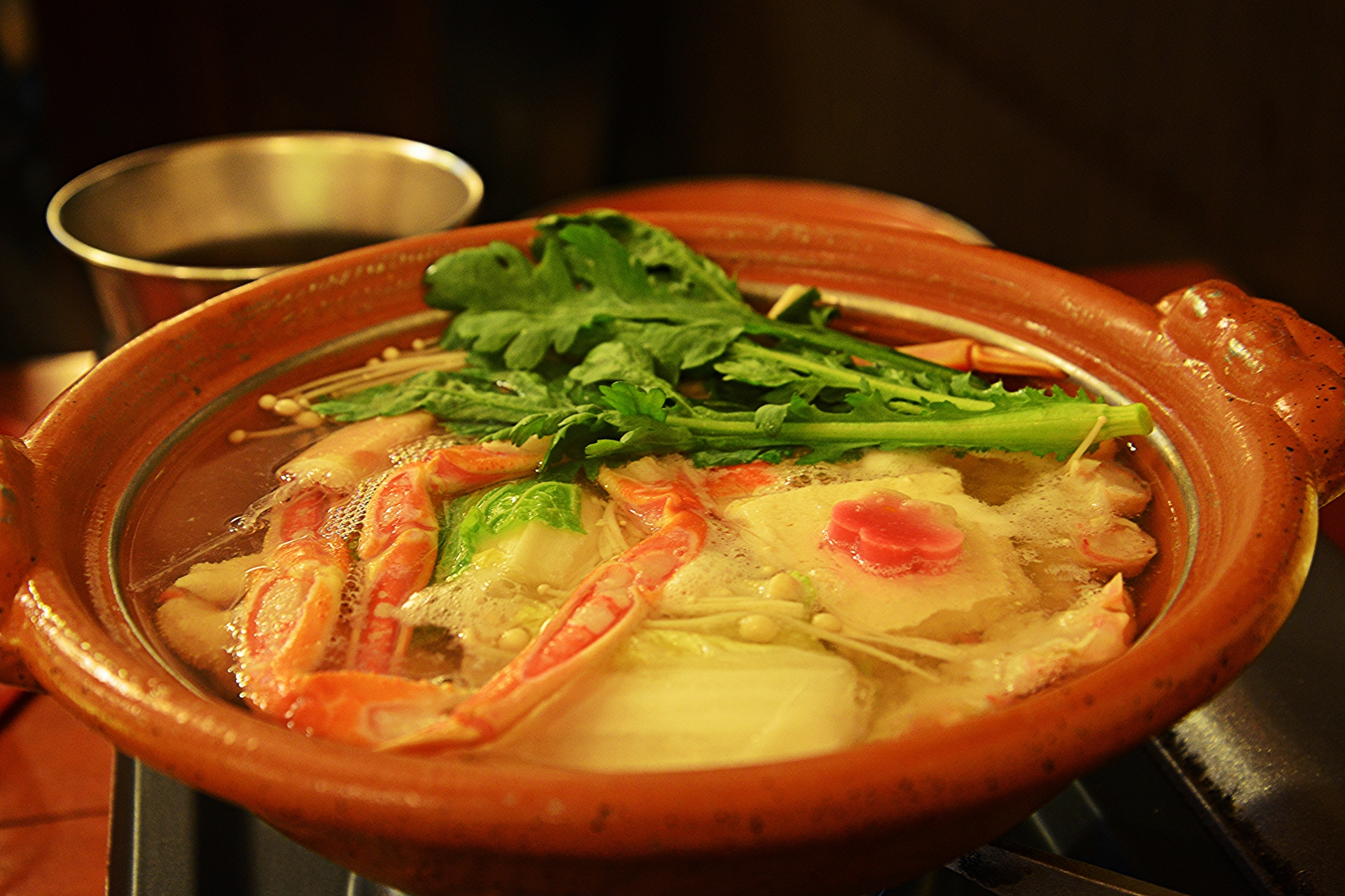 japan food nabe winter