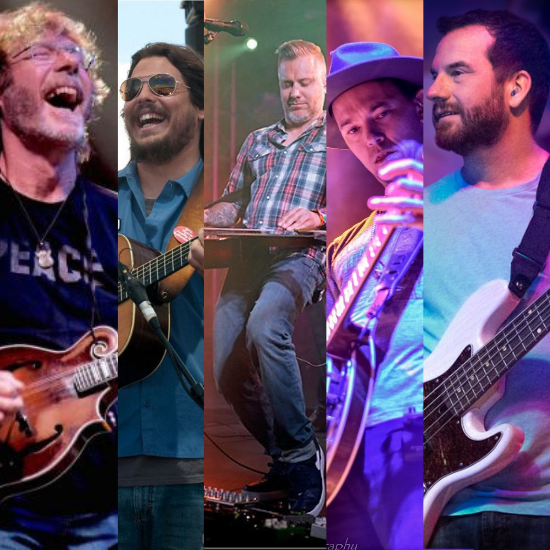 Bluegrass Generals ft. Andy Hall, Chris Pandolfi, Dave Bruzza, Sam Bush, and Greg Garrison