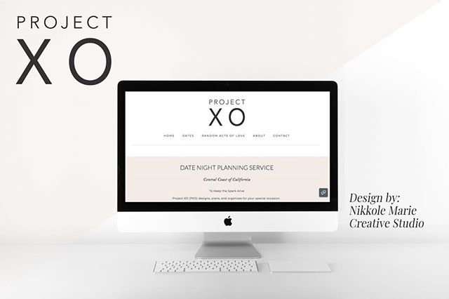 So many good things happening today! #1. It's Friday! ✨ and #2. The wonderful @projectxo site is now live! 🎉 Hannah is your date night planning service on the Central Coast of California, with amazing packaged dates to customized dates for you and your boo. I can't wait to see where Hannah takes this unique and wonderful business. From branding to website design, this is the complete package. I would love to hear what you think!  Go to project-xo.com to view! . . #webdesign #makeithappen #websitedesign #squarespace #squarespacedesigner #websitequestions #webtips #websiteinfo #golive #websitedesigner #businessbranding #projectxo #centralcoast #datenight #slo #smallbusiness