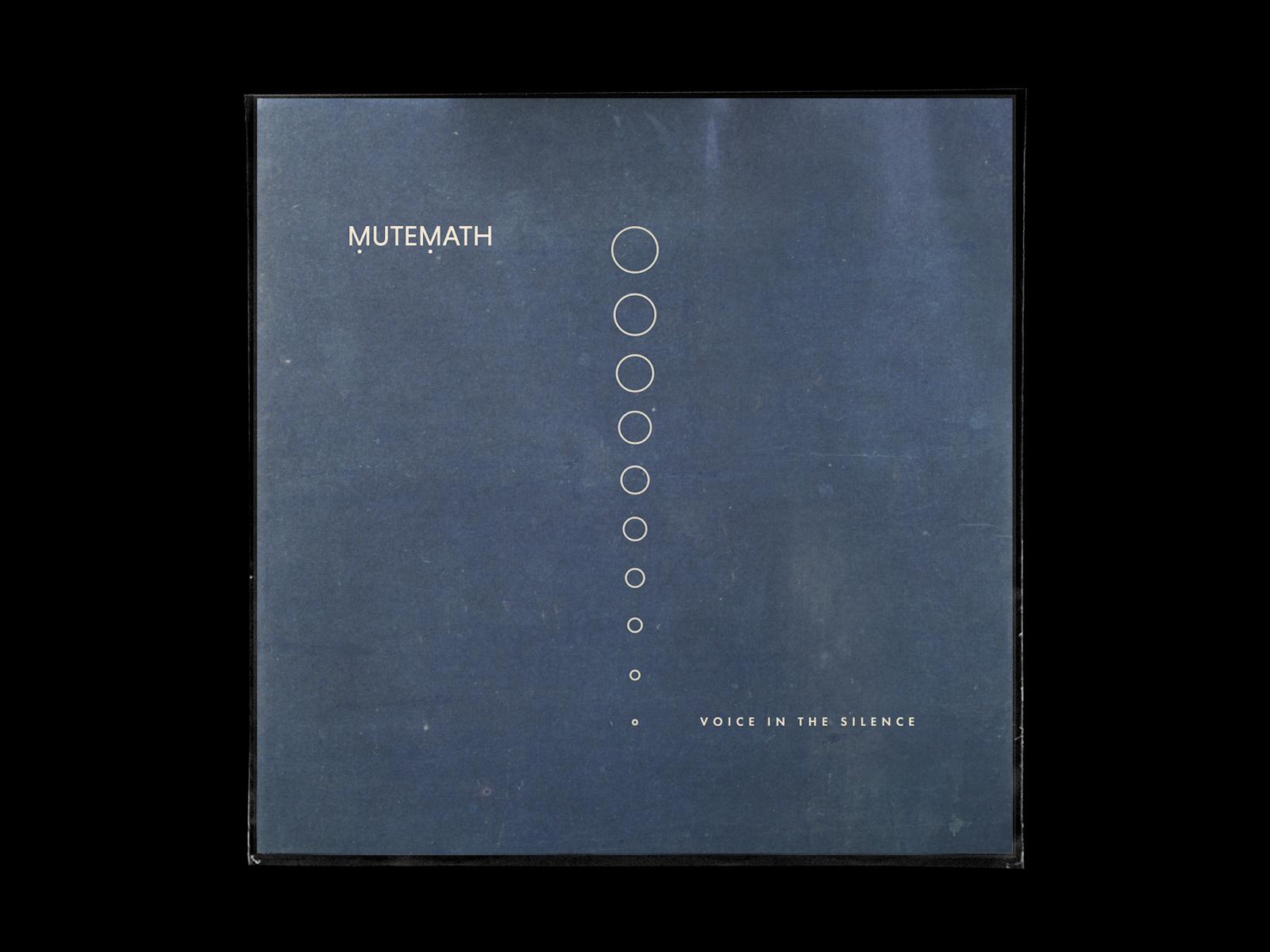 Client: MUTEMATH; Role: Strategy, Creative Direction, Design