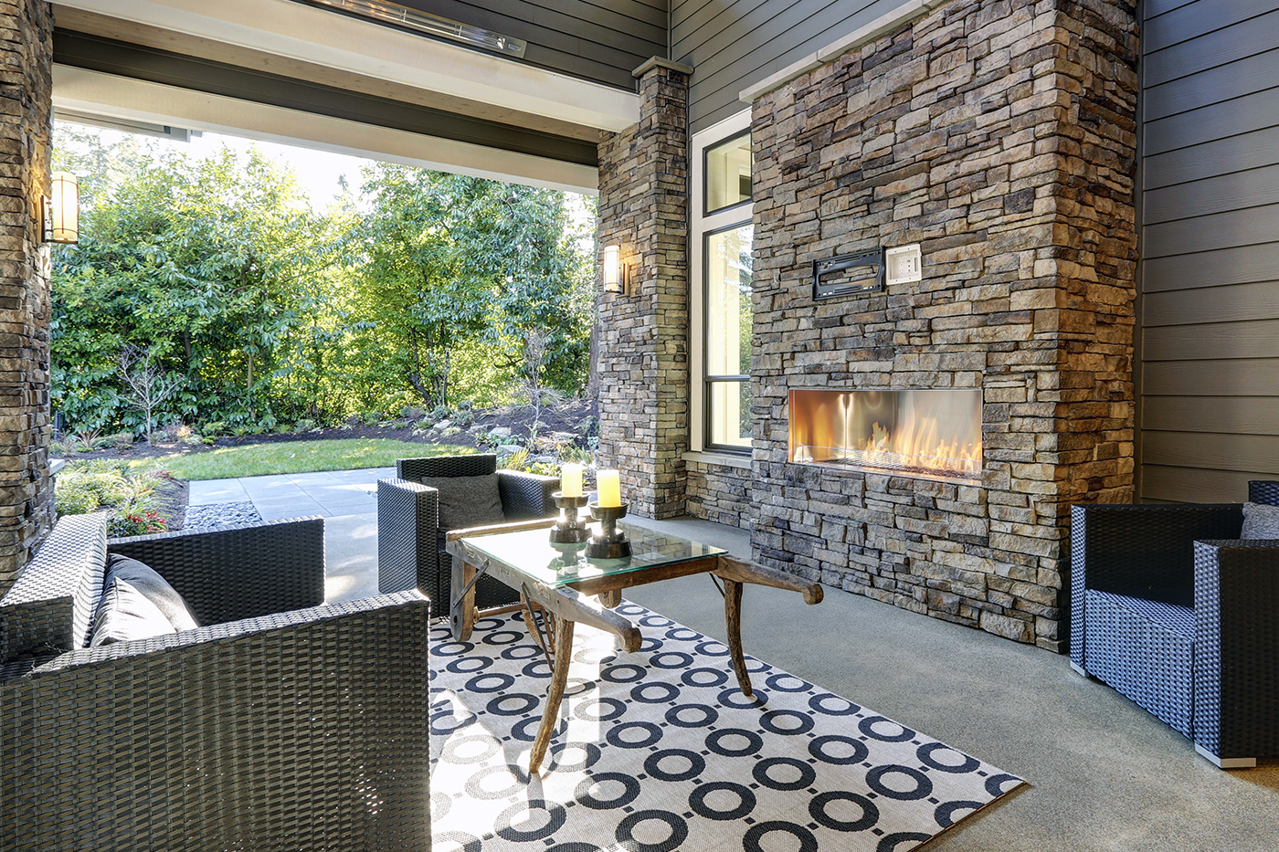 FIREPLACES / BBQ'S / PATIO HEATERS - Call us to hook up your gas appliances. We also install and service fireplaces, patio heaters and outdoor fire-pits (gas).