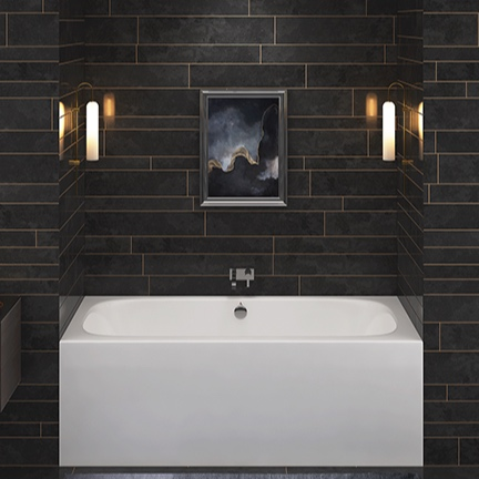 BATHTUBS - - Freestanding tubs, skirted tubs, drop in tubs- Porcelain, stone, copper, nickel and concrete