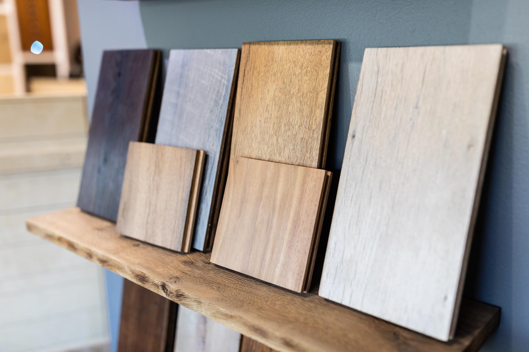 Wood Sample Display