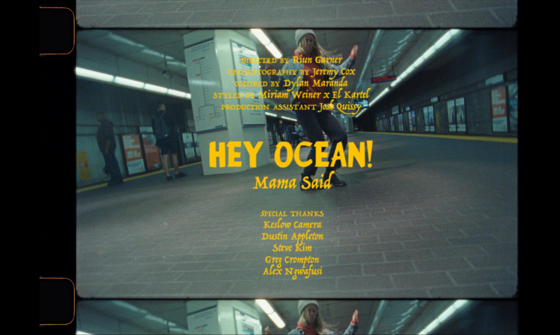 Hey Ocean - -view-