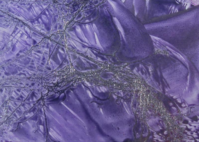 Adding Angelina fibers to the wax