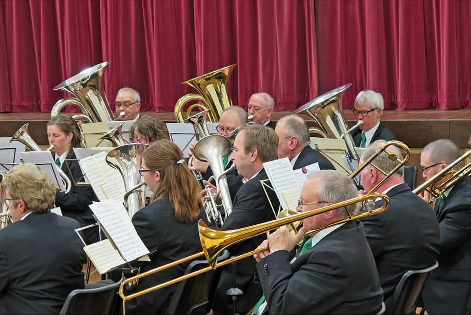 Ampthill Town Band - Ampthill Town Band has played in every Ampthill Proms in the Park since the inaugural concert in 2009. The band play regularly for events in and around Ampthill and we promote our own concerts. We are always pleased to welcome brass players along to join us, both youngsters and anyone that is learning a brass instrument. 2016 was a historic year for Ampthill Town Band. For the first time in our 175 year history we performed outside of the British Isles as we took part in a concert with our twin band L'Orchestre d'Harmonie de Nissan. The band enjoyed the experience of visiting the south of France and the joint concert was a great success.