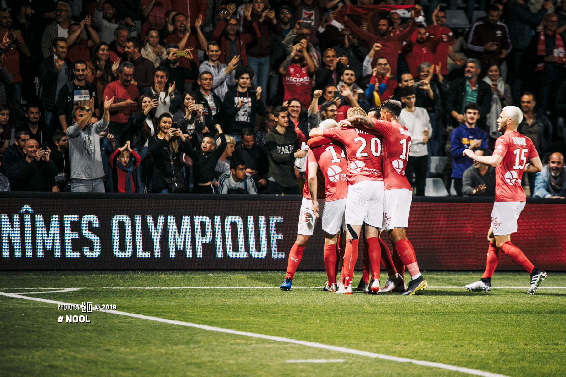 Nîmes Olympique -Olympique Lyonnais - 24 MAI 2019STADE DES COSTIERES, NÎMES145 PHOTOS