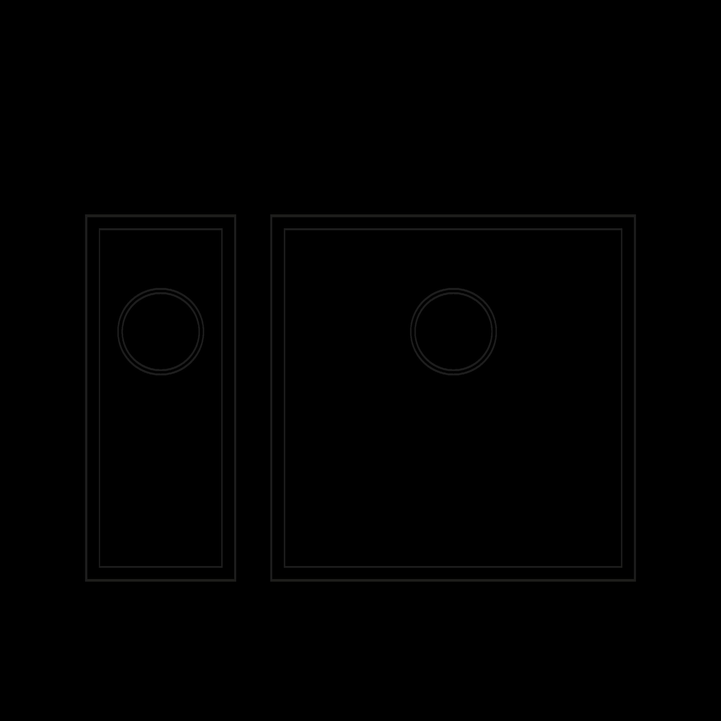 800mm Cabinet Sink Combination - 1.5 sink combinationHalf Sink: TS175Sink: TS425