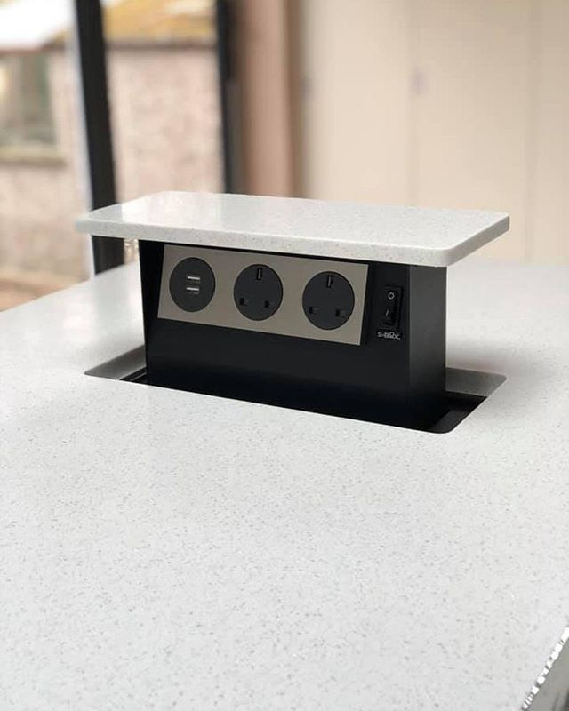 Change the way your surface works for you. By integrating technologies such as wireless charging pads and pop up plug sockets into the surface, you can make #YourTristoneCreation future-proof.  #KitchenDesign #ProjectSupport #Architects #Designers #SolidSurface #CommercialDesign #BespokeDesign #InteriorDesign