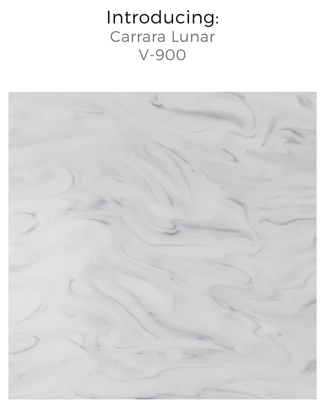 Carrara Lunar - our beautiful new marbled colour has landed at our warehouse and is available now. For more information including samples, get in touch with us.  #ProjectSupport #YourTristoneCreation #Architects #Designers #SolidSurface #CommercialDesign #BespokeDesign #InteriorDesign #Marbled #MarbledEffect