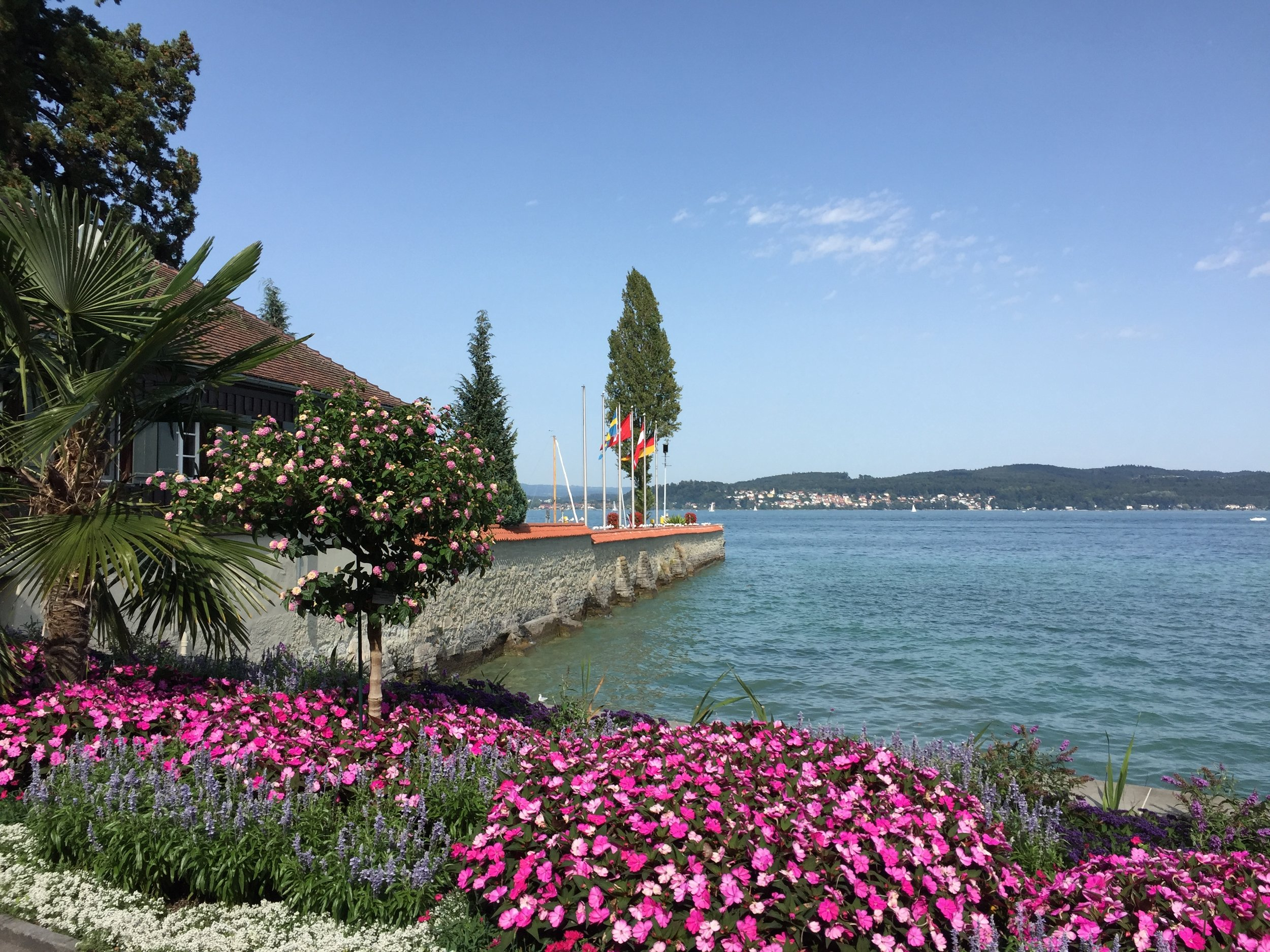 Mainau Island in Lake Constance