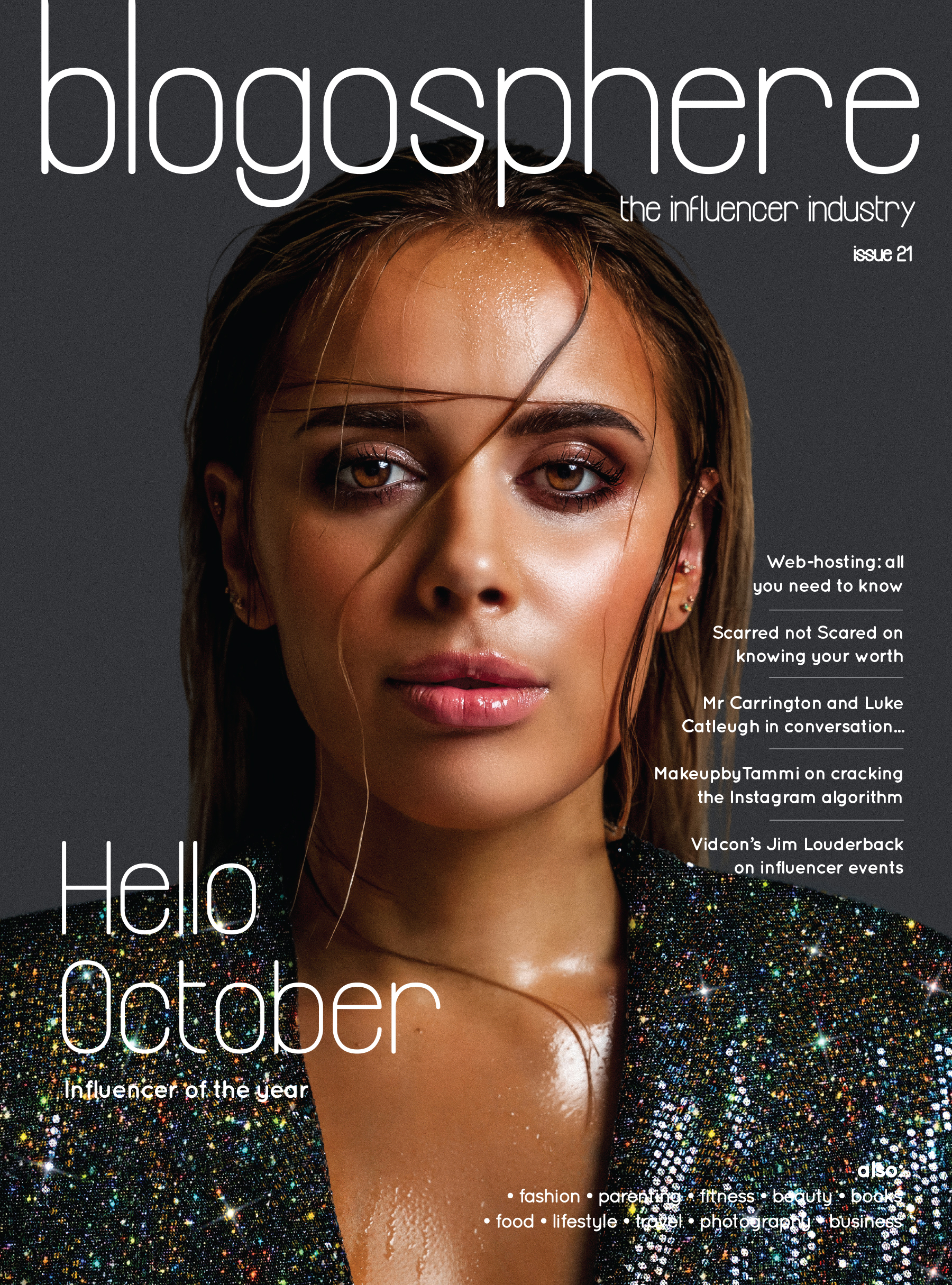 BLOGOSPHERE ISSUE 21 COVER