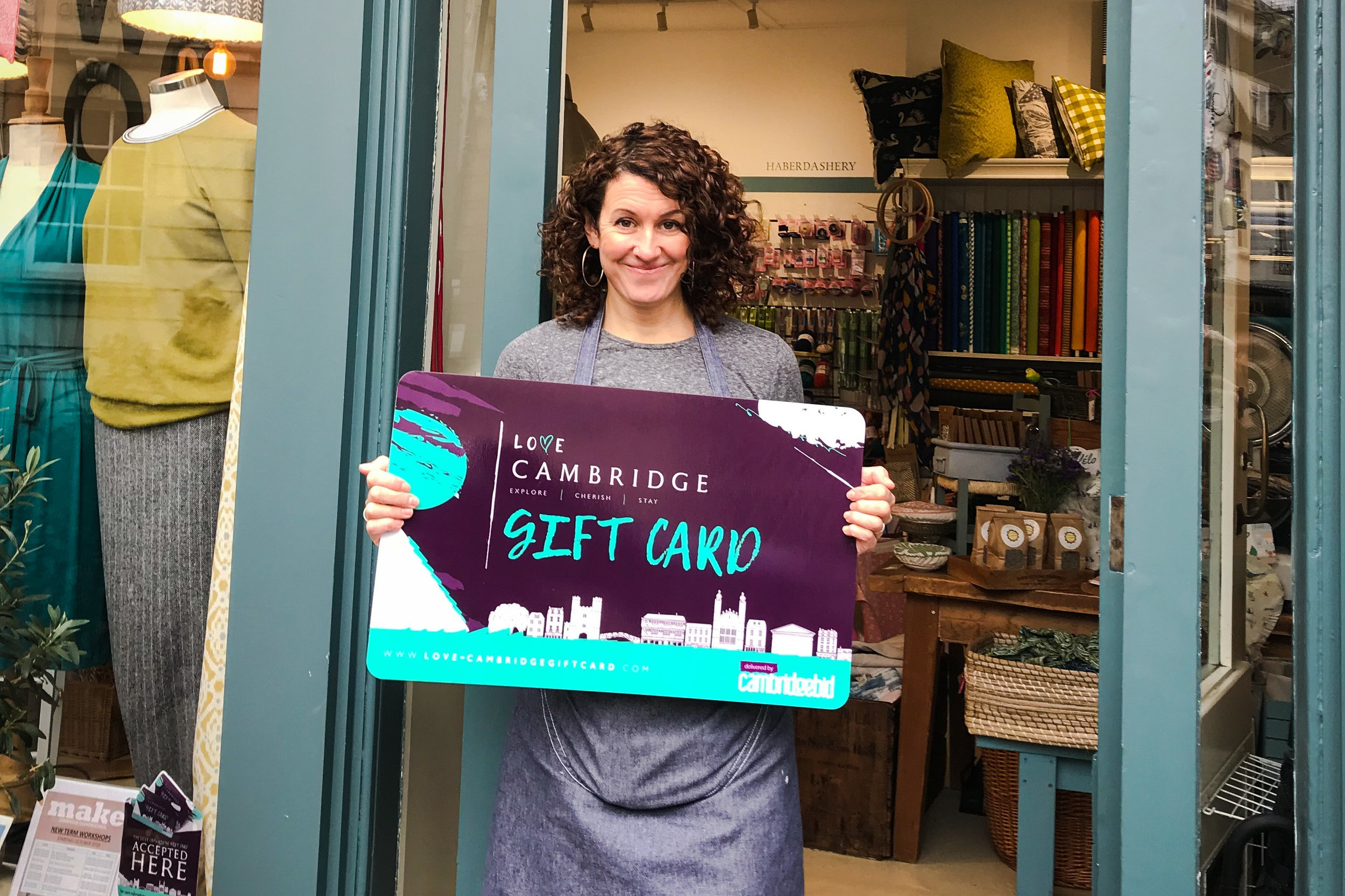 Love Cambridge Gift Card - The best of Cambridge, in one little card