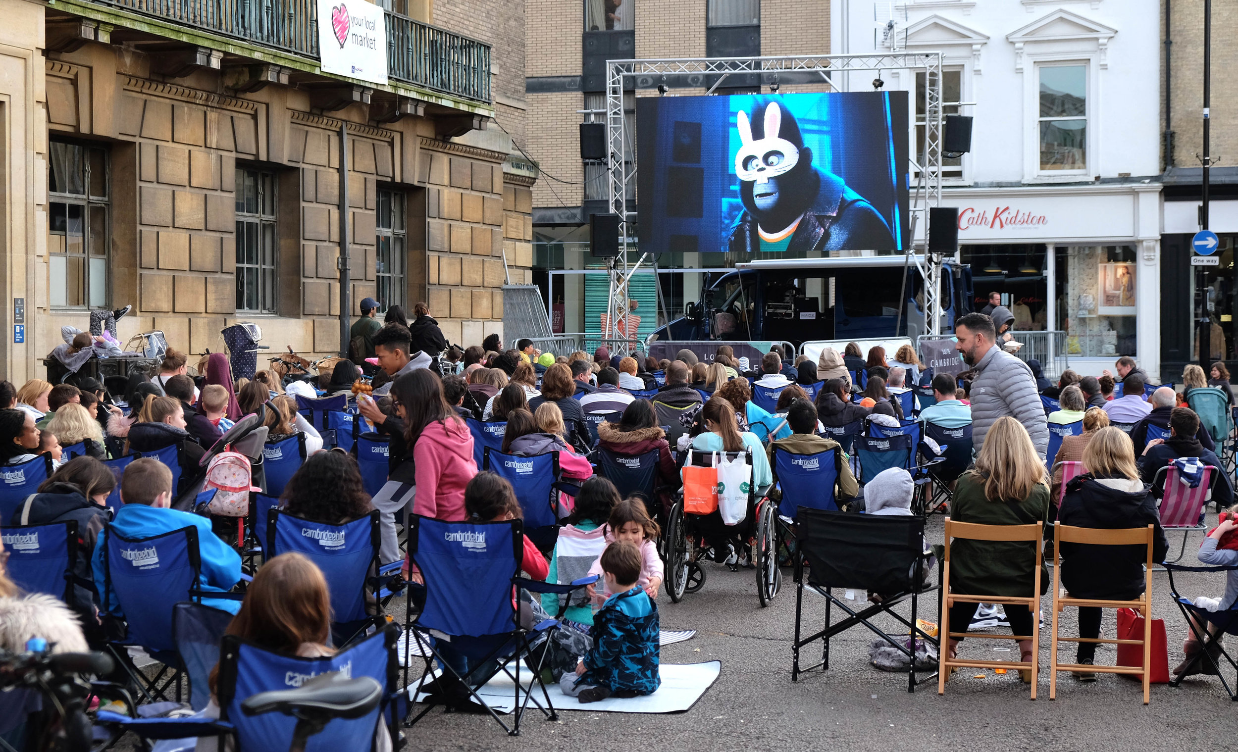 Night Market & Outdoor Cinema - 24th May, 21st June, 26th July & 30th August 2019Cambridge Night Market and Outdoor Cinema is a series of free market events happening throughout the summer. Films and market stalls details will be announced soon!