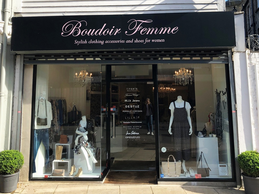 Boudoir Femme - Pop-up shop & styling event, plus free gift with every purchase