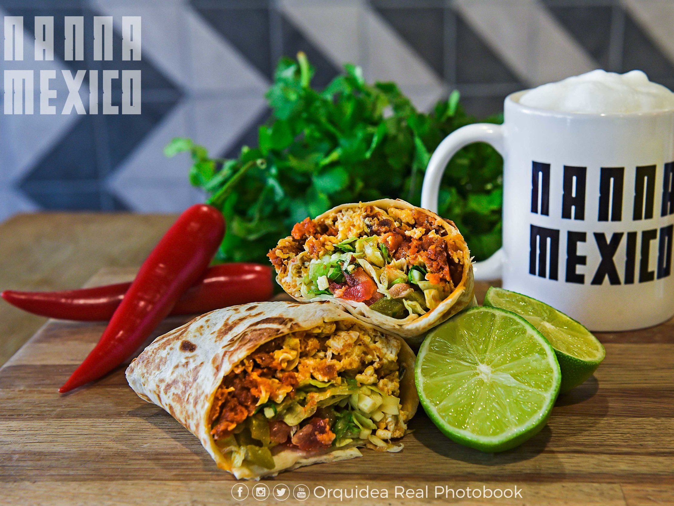 Nanna Mexico - £5 burrito and soft drink£6 burrito and Corona beer