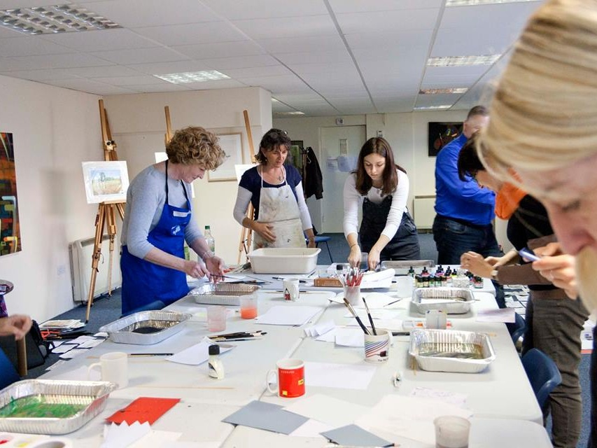 Tindalls - 2-day calligraphy course and children's workshops. Plus in-store demonstrations and 20% off selected products