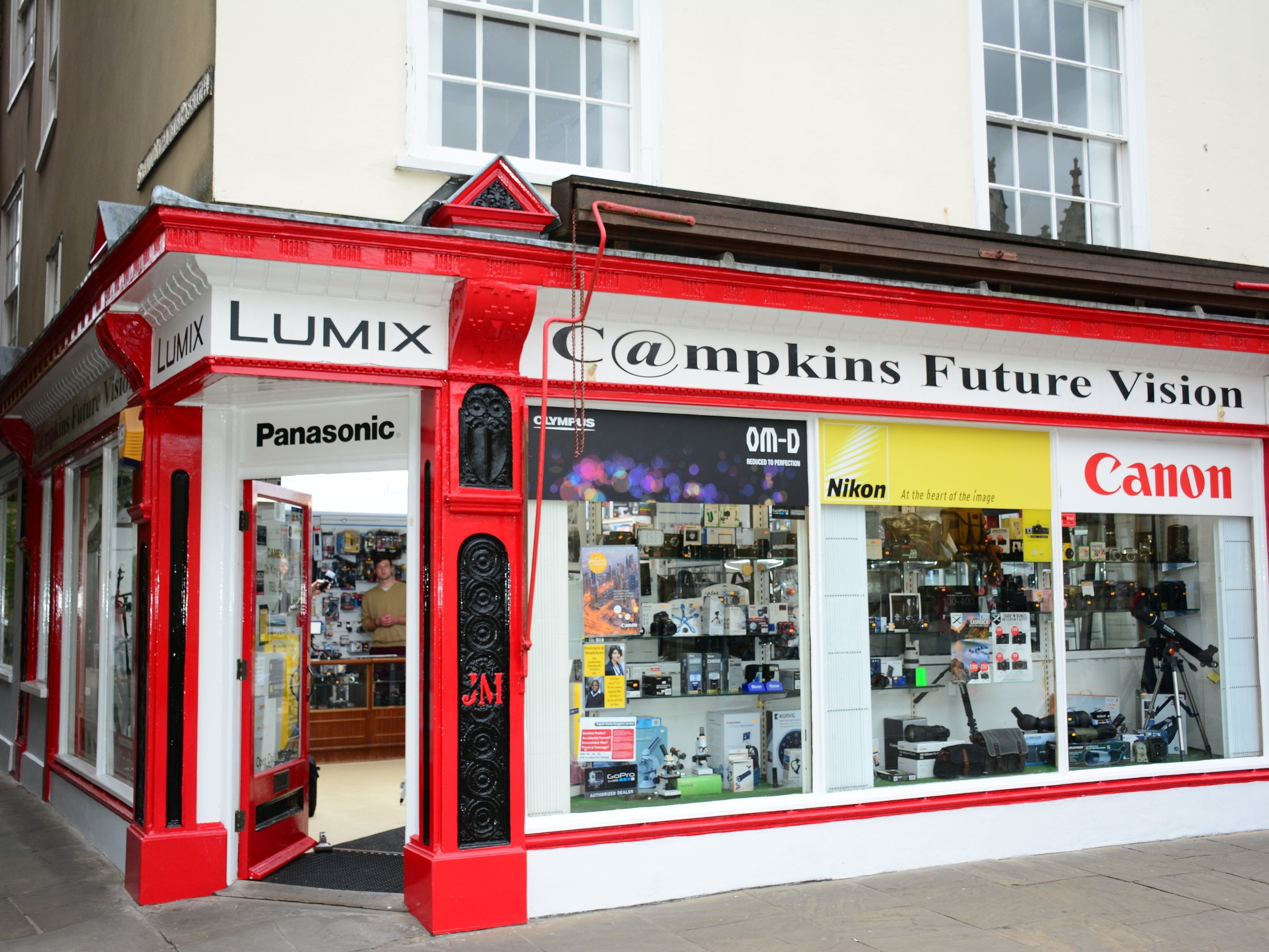 Campkins Cameras - Win a camera, buy one get one half price, 10% off, free memory cards, it's all happening at Campkins