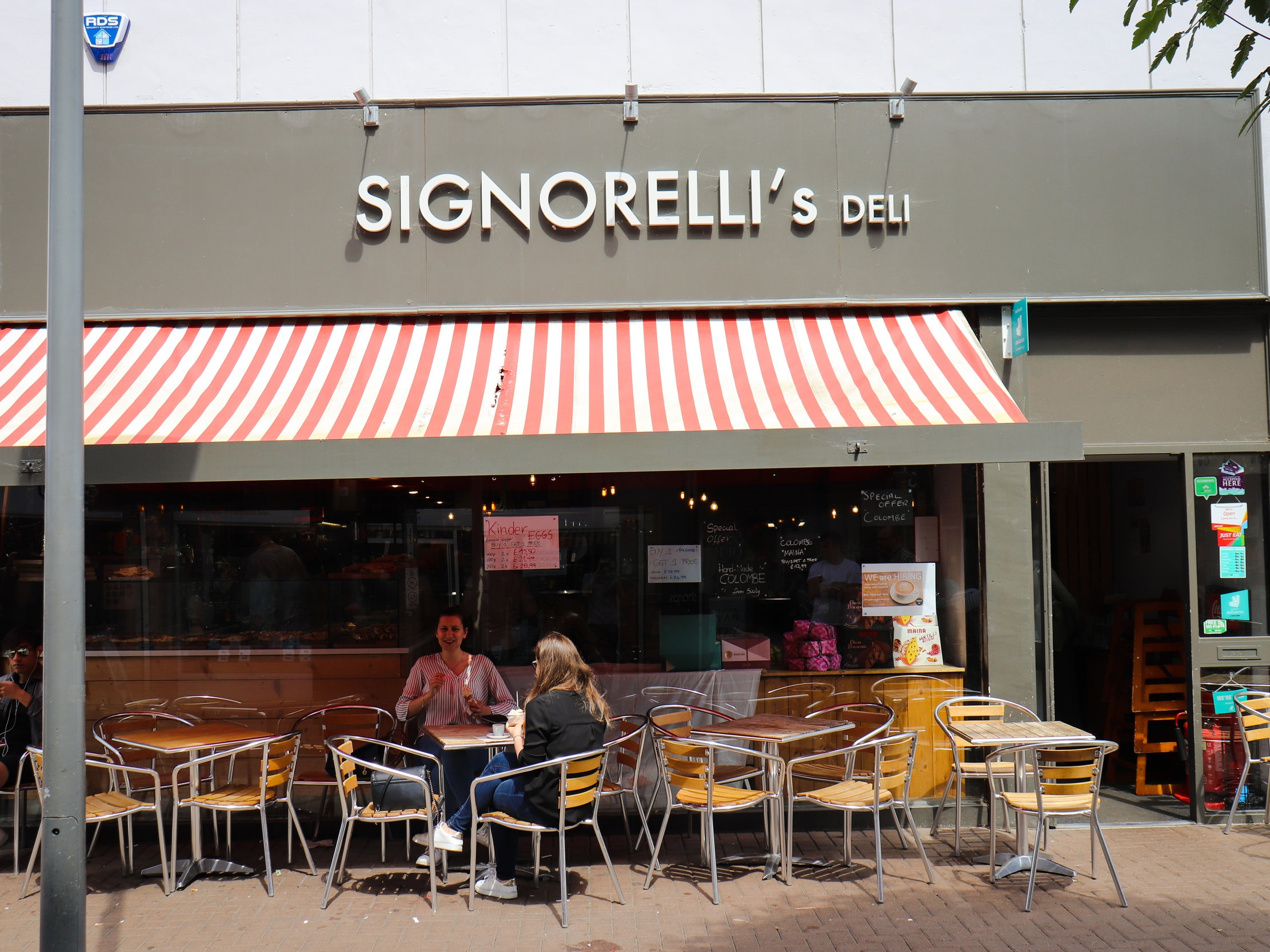Signorelli's Deli - 10% of all food bills, Italian wines, spirits and dry deli