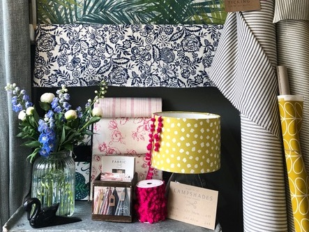 The Cambridge Fabric Company - Free Lampshade Making Demo