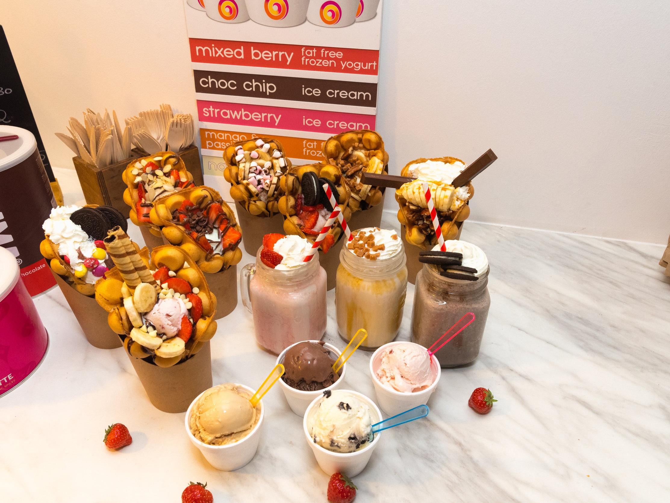 Bubble Tap - £5 dessert offer